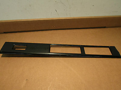 Blende links Armaturentafel carboneffekt Speedster (RL) ORIGINAL OPEL 4801707
