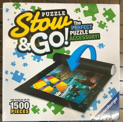 Brand New ~Ravensburger~Stow & Go Felt Puzzle Mat~Holds Up To 1500 Pieces~ 46X26