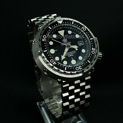 Steeldive Sd1975 Tuna, Automatic Nh35, Seiko Tuna Homage, 300M,