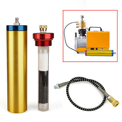 PCP Air Compressor 4500PSI Large Oil Water Filter Diving Seperator 300Bar 30Mpa