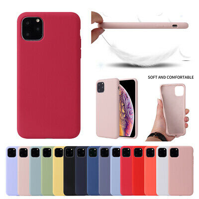 Case for Apple iPhone 11 Pro Max XS XR 8 7 Original Genuine Silicone Phone Cover