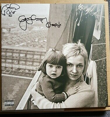 Gerry Cinnamon-The Bonny, Hand Signed FLAME RED/ORANGE- VINYL,ONLY ONE ON EBAY
