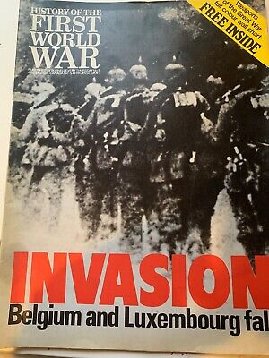history of the first world war invasion belgium and luxembourg fall