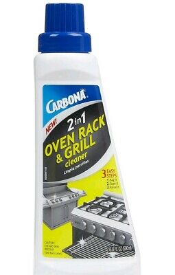 Lot of 2 Carbona 2 In 1 Oven Rack Cleaner 16.9Oz New