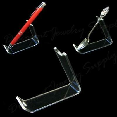 Acrylic Pen / Demitasse Spoon Display Stand - Lot of 10