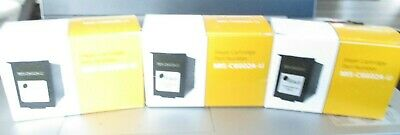 Inkjet Cartridge for Digital Check, Panini and Canon Scanners C6602A Lot of 3