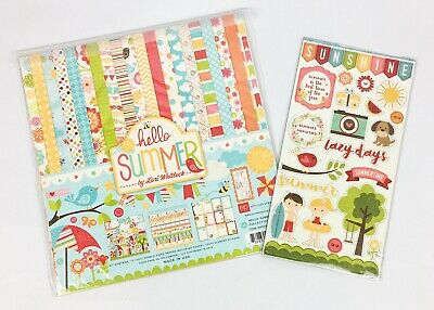 Echo Park Paper Company Summer Fun Layered Stickers