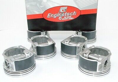 """Mahle Olds Buick Pontiac Chevy 3.1L 189ci MOLY 41473CP .020/"""" Piston Ring rings"""