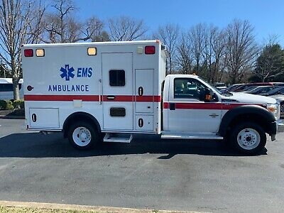2011 Ford F450 Xlt Ambulance Government Owner 94K Miles Shows New