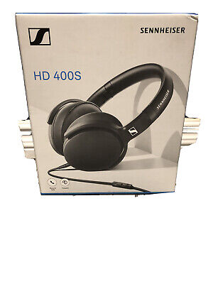 Sennheiser HD 400S Headset Microphone Closed over Ear with Handsfree Remote