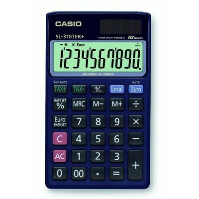 ✨Casio Calcolatrice Con Display A 10 Cifre
