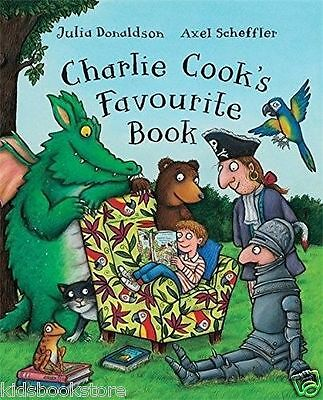 Julia Donaldson Story Book  - CHARLIE COOK'S FAVOURITE BOOK  - NEW