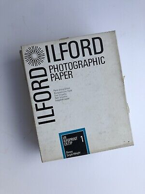 """Vintage ILFORD Photographic Paper 8""""x10"""""""