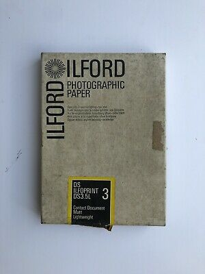 """Vintage. ILFORD photographic Paper 5.7/8""""x8.1/4"""""""