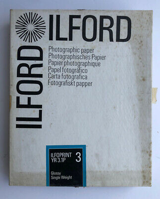 """Vintage. ILFORD photographic Paper Glossy Very Rare Great Price! 8""""x10"""""""
