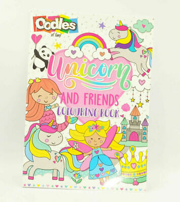 Kids Unicorn Colouring Activity Book Creative Books Childrens Game Book Drawing