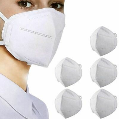 KN95 Protective Face Mask CE/ECM Certified | GB2626 Standard | 5-Pack
