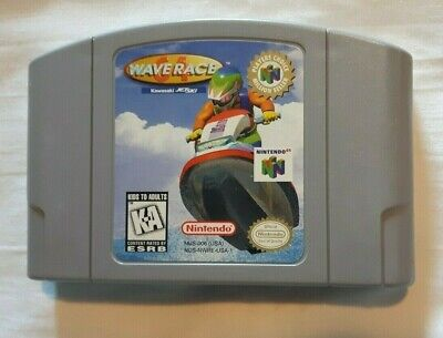 Nintendo 64 N64 Waverace 64 (game only) #2