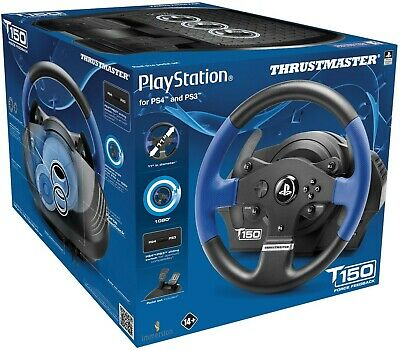 Thrustmaster T150 RS Force Feedback Racing Wheel for PlayStation 4, 3, and PC!