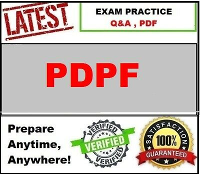 PDPF - EXIN Privacy and Data Protection Foundation -LATEST Exam QA