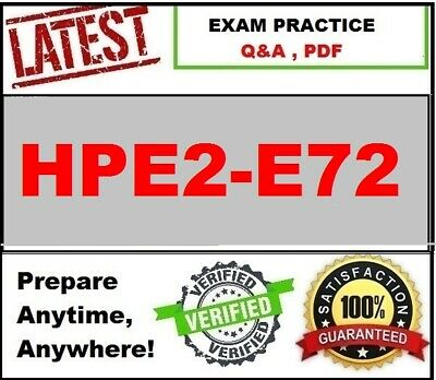 HPE2-E72 - Selling HPE Hybrid Cloud Solutions-LATEST Exam QA