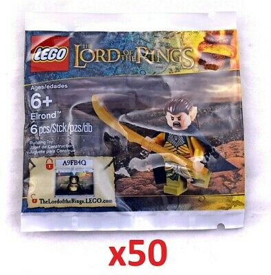 Lego Elrond Lot 50 Polybags New Sealed Lord of the Rings Fellowship of the Ring