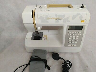Husqvarna Viking Embroidery Sewing Machine Huskystar C20 UNTESTED OR NOT WORKING