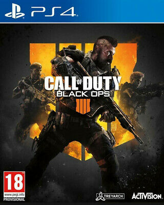 Call of duty Black Ops 4 IIII - Jeu PS4 - Neuf sous blister - FR