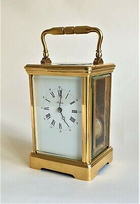 L'Epee Corniche Striking Carriage Clock.  Full overhaul and in Superb condition.