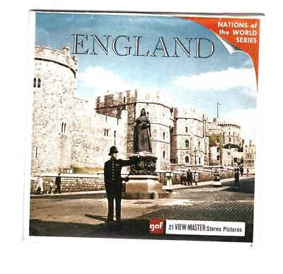 View Master  England   B 156    Nations Of The World Series In Inglese