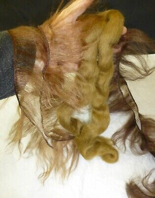 Mohair For Repair Antique Doll Wigs, Dollmaking, Wigmaking