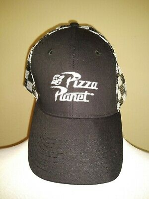 Pizza Planet embroidered Hat Toy Story Alien planet Royal blue Cap Costume
