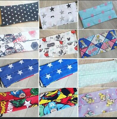 disney themed reversible, reusable, double layered facemask