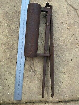 Antique East India Company Wrought Iron Lock - 18th Century - With Key - #20