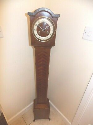 British Made 8-Day Granddaughter Clock With Platform Escapement In Working Order