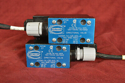 Continental Hydraulics Directional Valve VS5M-1A-GB-60L-K~ UNTESTED