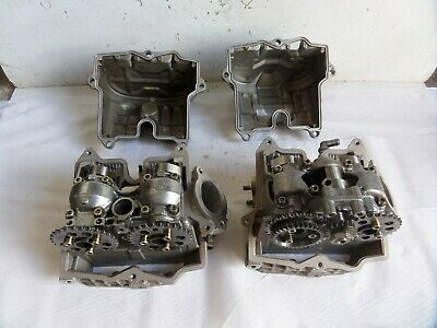 Aprilia ETV1000 Caponord 2001 pair cylinder head cams valves shims rocker covers