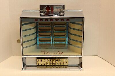 1960's SEEBURG WALL-O-MATIC - WALL BOX COMPLETE w/KEY