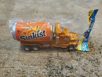 Vintage Toy Sunkist Can Truck