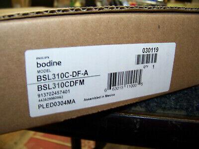 120-277VAC OUTPUT 15-50VDC PHILIPS BODINE BSL310PCNH EMERGENCY LED DRIVER