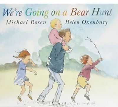 Preschool Bedtime Story Book - WE'RE GOING ON A BEAR HUNT by Michael Rosen - NEW