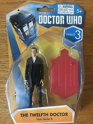 """Doctor Who 3.75/"""" Wave The Twelfths Doctor From Series 8 Brand New Sealed"""