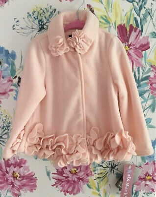 Kate Mack Girls Coat/ Jacket,absolutely Beautiful, So Adorable. Bnwt
