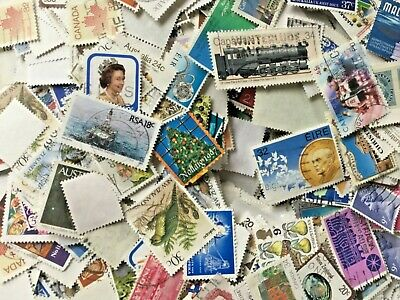Commonwealth stamps, about 1,200. Good variety.