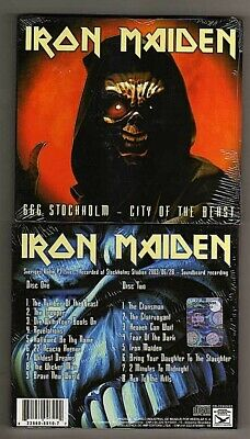 Iron Maiden ‎– 666 Stockholm - City Of The Beast - 2 CD Digipack  - SEALED MINT