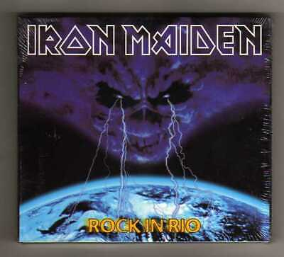 Iron Maiden ‎– Rock In Rio - 2 CD Digipack 6352148795688 - SEALED MINT NEW