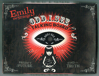 Emily The Strange 2009 Odd I See Talking Board Complete