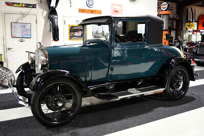1928 Ford Model A MODEL A BUSINESS COUPE DOCUMENTED RESTORE CLEAN 1928 MODEL A BUSINESS COUPE 304 MILES POWER WIPER PICTURES OF RESTORATION CLEAN