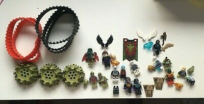 Lego Legends of Chima Minifigs & Parts Cragger Laval Crawley Claw Ripper Wings
