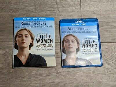 Little Women 2019 (Blu-ray/DVD) with Slipcover